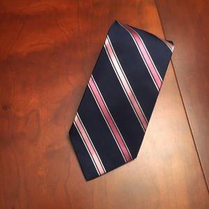 "NAUTICA silk neck tie 57"" long"